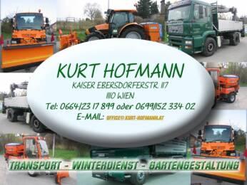 Kurt hofmann transport winterdienst gartengestaltung for Gartengestaltung logo