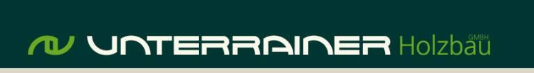 Bildergebnis für holzbau unterrainer logo